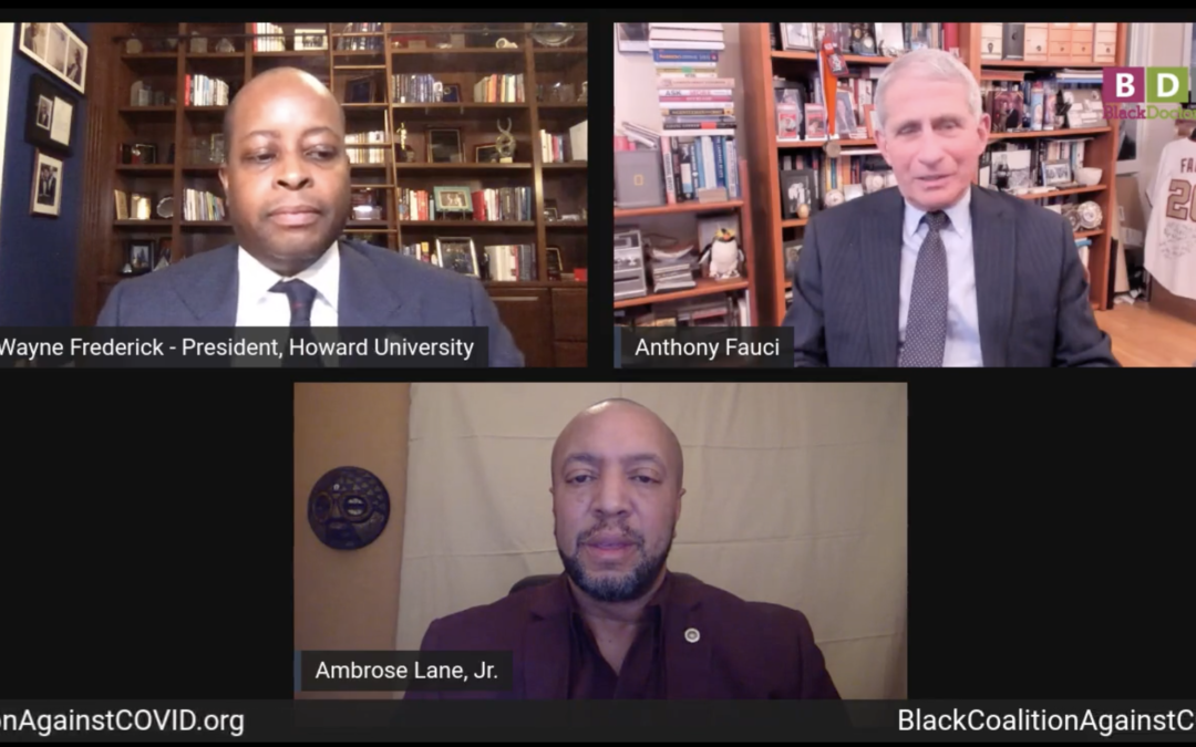 Making it Plain: A Conversation with Dr. Fauci and the Black Community.